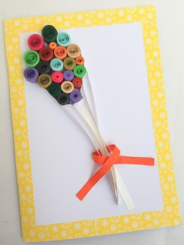 Quilling gift card