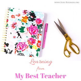 My Story of learning Sewing and a tip too! Read more on my blog.