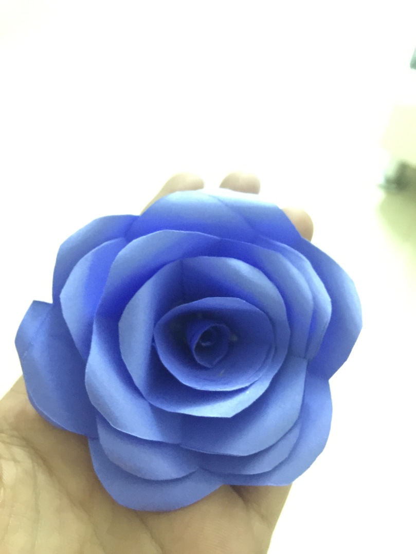Easy to make paper flowers!